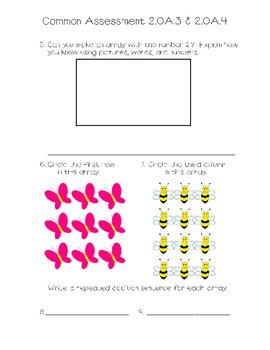 Common Assessment 2.OA.3 & 2.OA.4