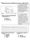 Common Assessment: Manatee RI2.6 Distinguish between information provided