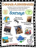 Common Assessments: 9 tests CCSS Journeys Grade 4