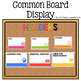 Common Board Display Technology Themed Decor