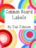 Common Board Labels