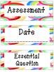 Common Board Labels