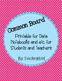 Common Board Printable