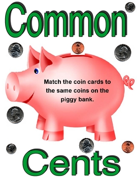 Common Cents Visual Discrimination Game