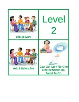 Common CHAMPS Cards - Excellent Behavior Management