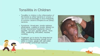 Common Childhood Illnesses & Immunizations Power Point