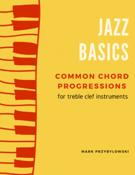 Common Chord Progressions (minor i vi ii V7) for Treble Clef Instruments