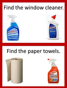 Common Cleaning Supplies - Questions