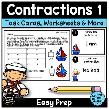 Common Contractions - Set 1