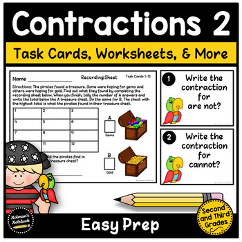Common Contractions - Set 2
