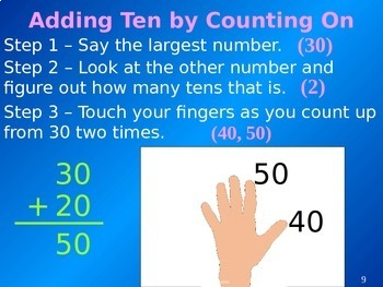 Common Core 1st - Addition 1 - Adding Tens & Multiples of Tens