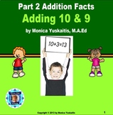 Common Core 1st - Addition Facts 2 - Adding 9 and 10 to a Number