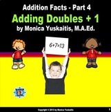 1st Grade Addition Facts 4 - Adding Doubles + 1 Powerpoint Lesson