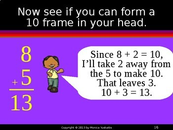Common Core 1st - Addition Facts 6 - Making a Ten Stategy
