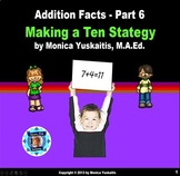 Common Core 1st - Addition Facts 6 - Making a Ten Strategy