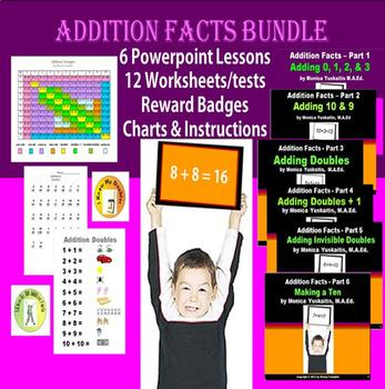 Common Core 1st - Addition Facts Made Easy - Bundle