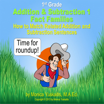 Common Core 1st - Addition & Subtraction 1 - Beginning Fact Families