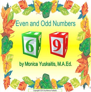 Common Core 1st & 2nd - Even and Odd Numbers