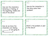 Common Core 1st Grade ELA Question Cards