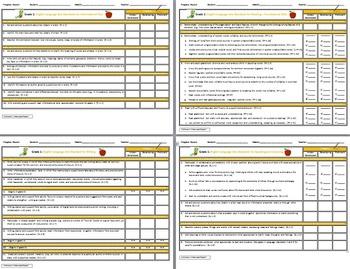 Common Core 1st Grade English Standards Cumulative Progress Reports