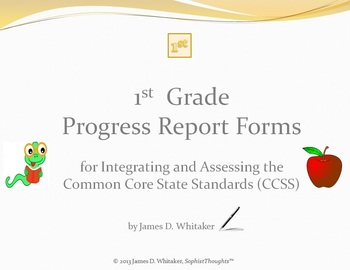 Common Core 1st Grade English Standards Cumulative Progres