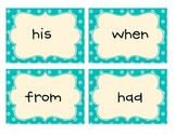 Common Core 1st Grade High Frequency Words Flashcards