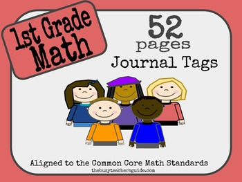 Common Core 1st Grade Math Journals