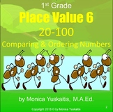Common Core 1st - Place Value 6 Comparing & Ordering Numbers 20-100