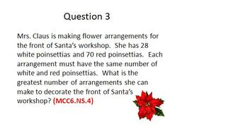 Common Core (6th Grade)- 1st Semester Study Guide Powerpoint