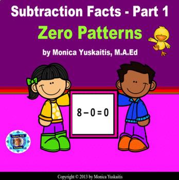 Common Core 1st - Subtraction Facts 1 - Zero Patterns