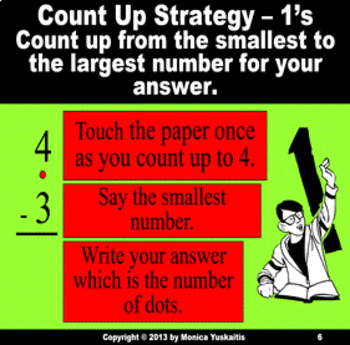 Common Core 1st - Subtraction Facts 3 - Counting Up 1, 2, & 3