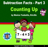 1st Grade Subtraction Facts 3 - Counting Up 1, 2, & 3 Powe