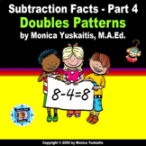 1st Grade Subtraction Facts 4 - Doubles Pattern Powerpoint Lesson