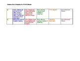 Common Core 1st grade 1st 9 weeks schemata