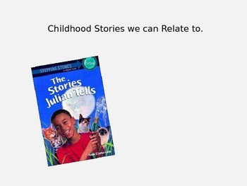 Common Core 2 Week unit The Stories that Julian Tells