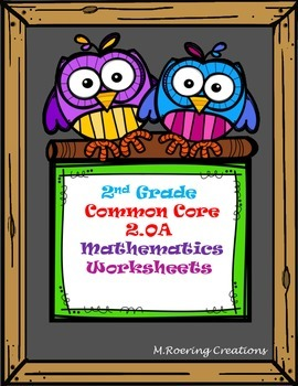 Common Core 2.OA Math Worksheet Packet