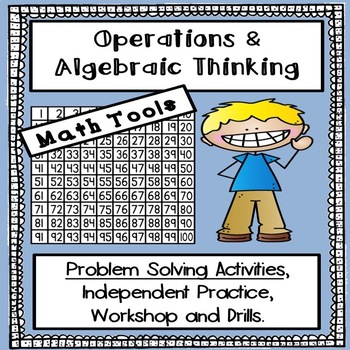 Operations and Algebraic Thinking - Math Activities Bundle & TOOLS