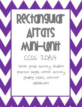 Rectangular Arrays: Beginning Multiplication Mini-Unit
