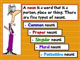 Common Core Kinds of Nouns PPT  CCSS Grades 2, 3, and 4 Revised