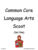 Common Core 2nd Grade Language Arts ELA Set One ~ Scoot Ga