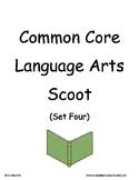 Common Core 2nd Grade Language Arts ELA Set Four~ Scoot Game ~ Task Cards