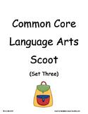 Common Core 2nd Grade Language Arts ELA Set Three ~ Scoot Game ~ Task Cards