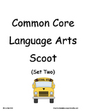 Common Core 2nd Grade Language Arts ELA Set Two~ Scoot Game ~ Task Cards