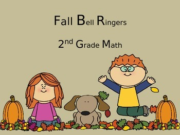 Common Core 2nd Grade Math (Fall Daily Math Bell Ringers)