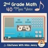 Common Core 2nd Grade Math Music Videos