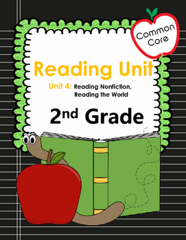 Common Core 2nd Grade Non Fiction Reading Workshop Mini Le