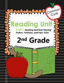 Common Core 2nd Grade Reading Lessons Unit 7 Fiction, Folktales and Fairy Tales