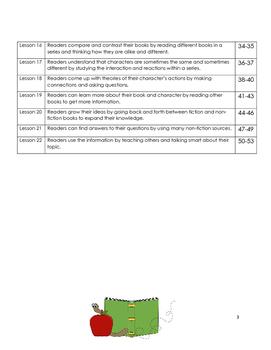 Common Core 2nd Grade Reading Mini Lessons Unit 5: Book Series Reading