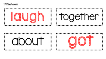 2nd Grade Word Wall (Common Core)