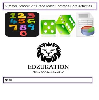 Common Core 2nd Second Grade Math Workbook